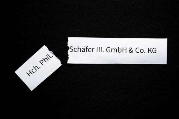 Neuer Firmenname für Schäfer III